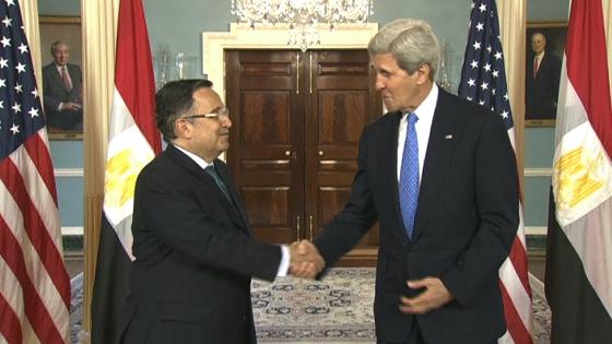 Ngoại trưởng Ai Cập và Hoa Kỳ hội đàm ở Washington