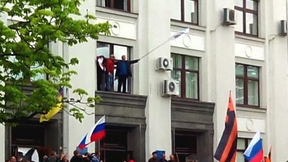 Thành phần ly khai Ukraine đã chiếm thêm trụ sở chính quyền