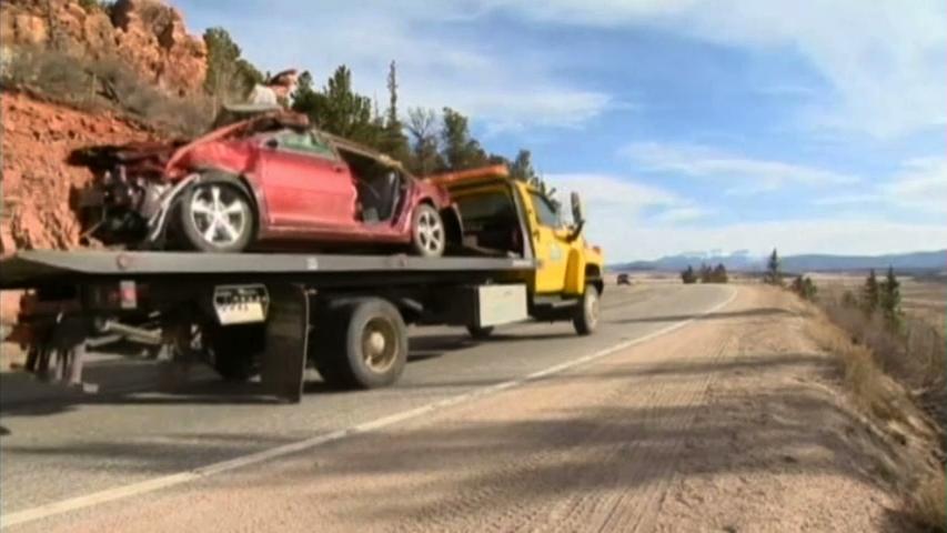 Một phụ nữ Colorado còn sống sau nhiều ngày bị kẹt trong chiếc xe gặp tai nạn