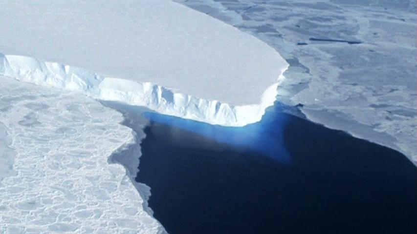 Lớp băng ở phía Tây Nam Cực đang tan chảy
