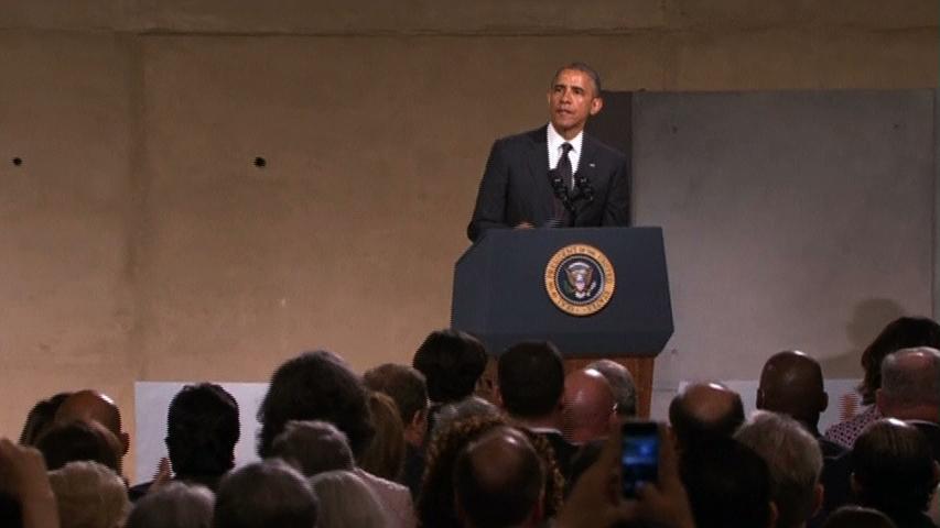 Tổng Thống Obama dự lễ khánh thành viện bảo tàng 11 tháng 9 ở New York