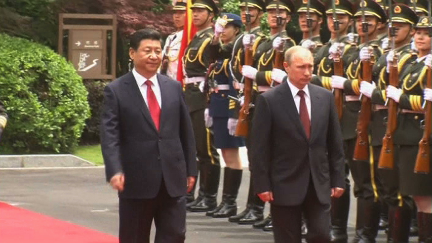 Tập Cận Bình và Putin họp song phương