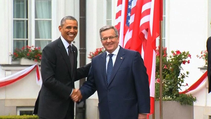 Tổng thống Barack Obama tới Ba Lan