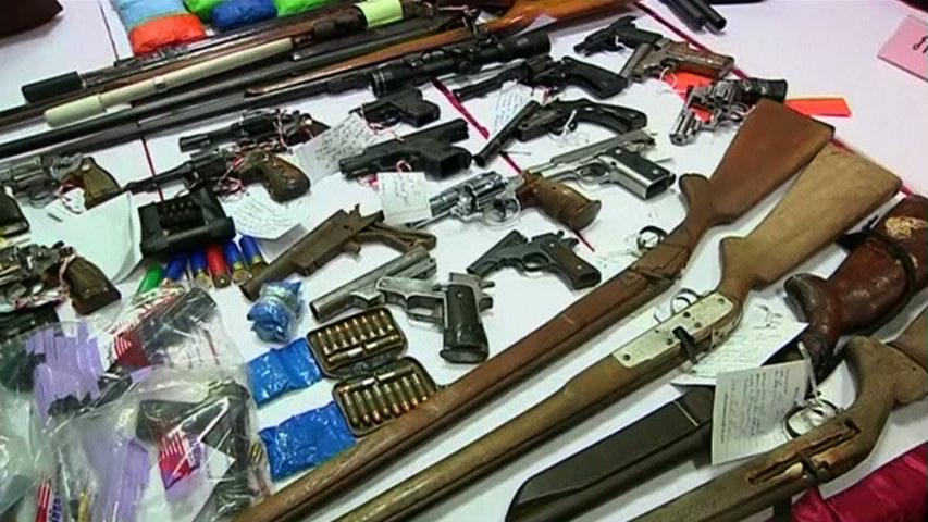 Quân đội Thái Lan tiếp tục tìm kiếm vũ khí bất hợp pháp