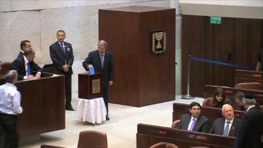 Quốc hội Do Thái bầu tân Tổng thống