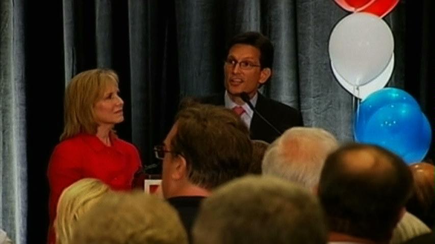 Nhân vật thứ hai của Đảng Cộng Hoà tại hạ viện Eric Cantor bị thua cho đối thủ thuộc Tea Party