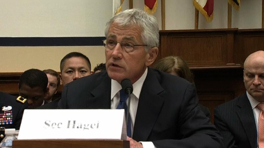 Bộ trưởng quốc phòng Chuck Hagel bảo vệ quyết định trao đổi tù nhân trước quốc hội