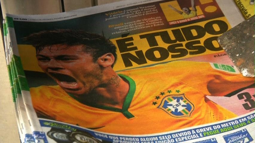 Dân chúng thành phố Sao Paulo phản đối biểu tình trong thời gian World Cup