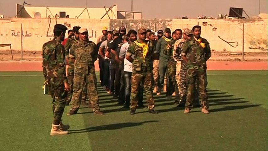 Thanh niên người Shiite Iraq tình nguyện tòng quân chống Isil