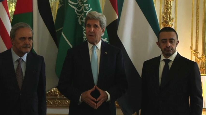 Ngoại trưởng Kerry gặp các ngoại trưởng Trung Đông