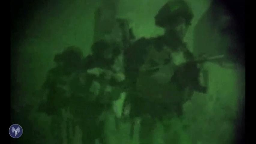 Bộ binh Do Thái tràn qua dải Gaza