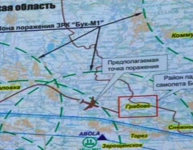 Bộ quốc phòng Nga thách thức những cáo buộc dân quân ly khai dùng hoả tiễn Nga bắn rơi chiếc phi cơ hãng Malaysia
