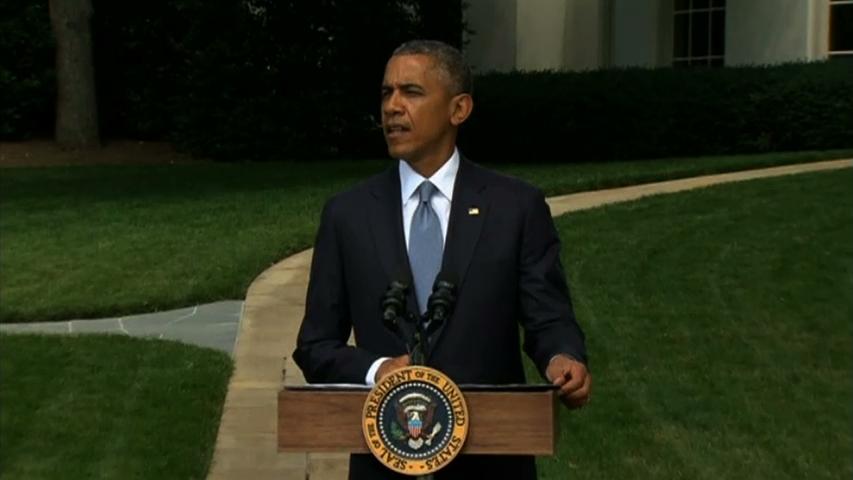 Tổng thống Obama nói thế giới nên tập trung vào thoả thuận ngừng bắn giữa Israel và Palestine