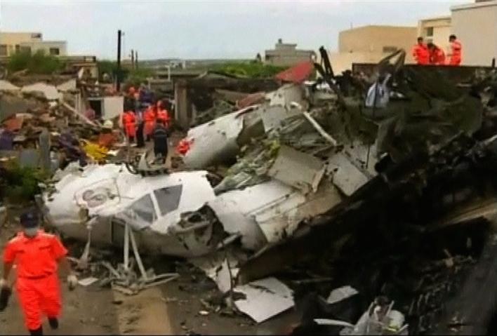 Thân nhân của 2 phi công Đài Loan bày rỏ sự tức giận