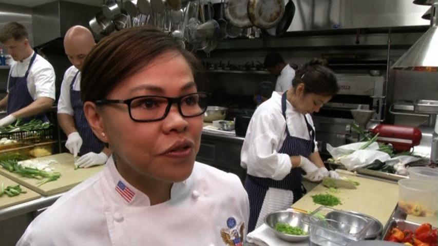 Đầu bếp Toà Bạch Ốc thực hiện ngoại giao ẩm thực