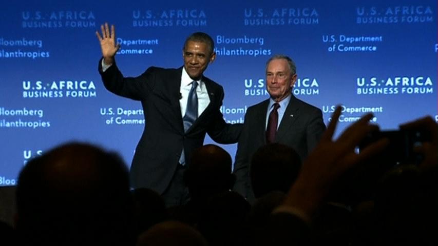 Tổng thống Obama công bố 14 tỉ mỹ kim đầu tư của Hoa Kỳ ở Châu Phi
