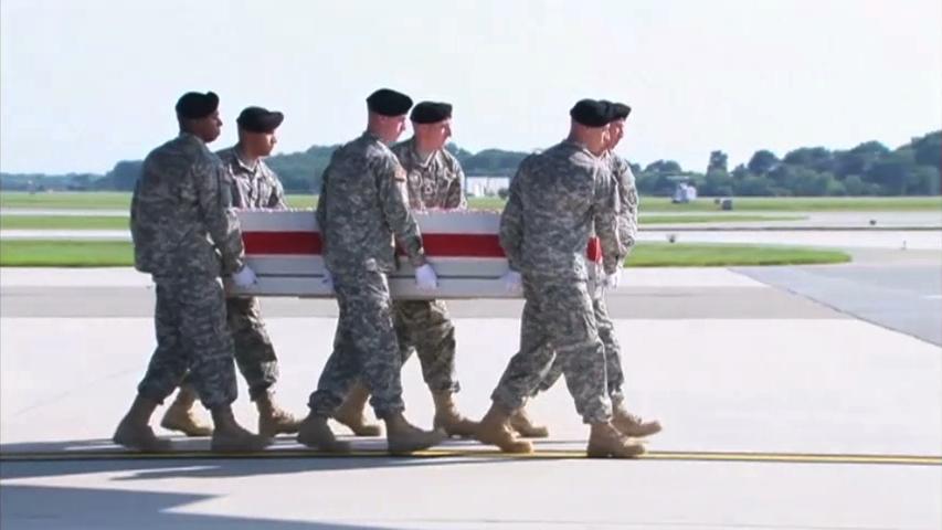 Thi hài tướng Harold Greene bị giết ở Afghanistan đưa về Delaware