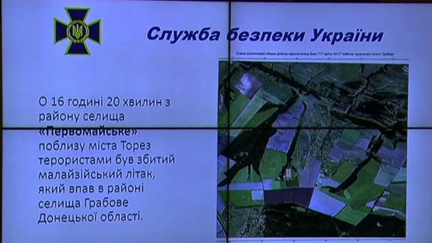 Chính quyền Ukraine nói rằng dân quân ly khai miền Đông đã bắn lầm chiếc MH-17