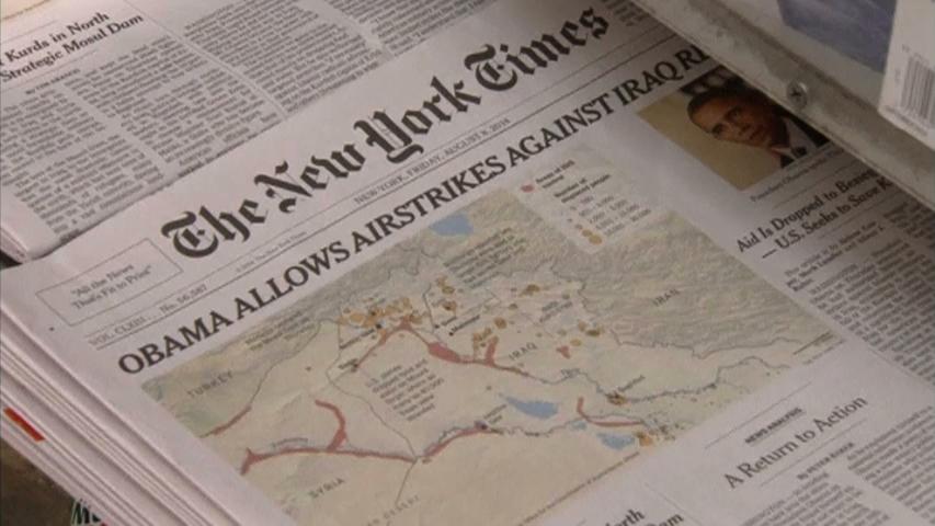 Phản ứng của người New York khi Hoa Kỳ không kích Iraq