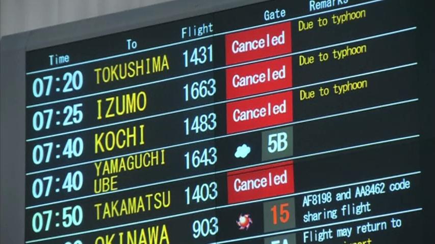 1.6 triệu người Nhật di tản vì bão Halong