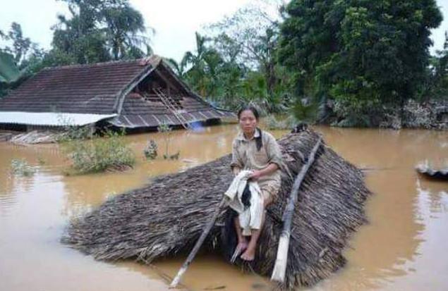 Sau thảm họa Formosa, người dân Miền Trung lại gánh chịu lũ lụt nặng nề