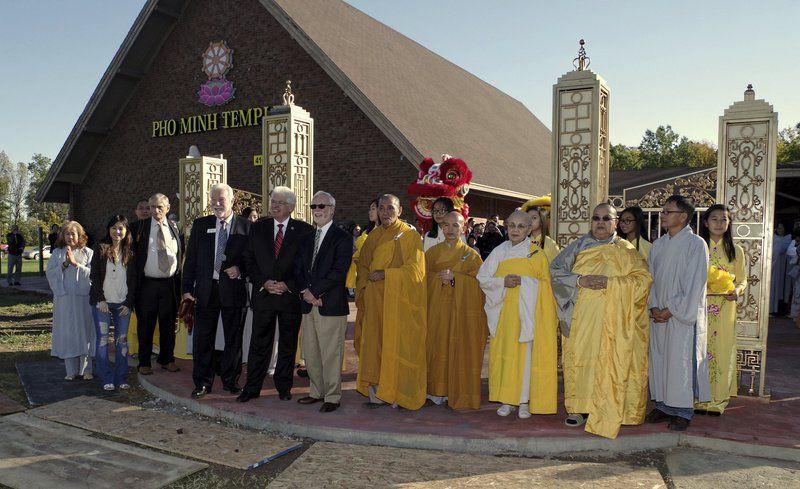 Khánh thành chùa Phổ Minh ở Anderson, Indiana