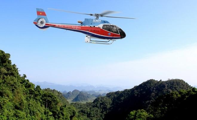 Trực thăng lại rơi ở Bà Rịa – Vũng Tàu