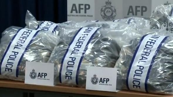 Cảnh sát Úc bắt 2 người Ba Lan sau khi tịch thu 1,2 tấn ma tuý tinh thể trị giá 145 triệu Úc kim