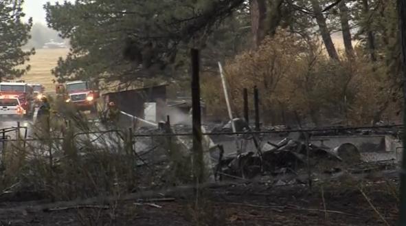 Lửa rừng thiêu huỷ 22 căn nhà ở Nevada