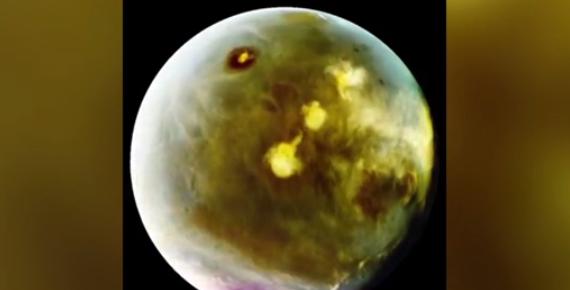 NASA công bố hình ảnh đẹp lung linh của Hoả Tinh
