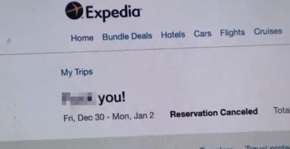 Khách hàng Expedia sửng sốt trước câu trả lời của hãng du lịch