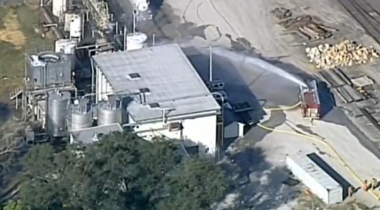 Cư dân Kansas được lệnh di tản sau khi hoá chất tràn ra khỏi nhà máy