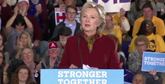 Văn phòng vận động bà Clinton nhận bì thư đáng ngờ