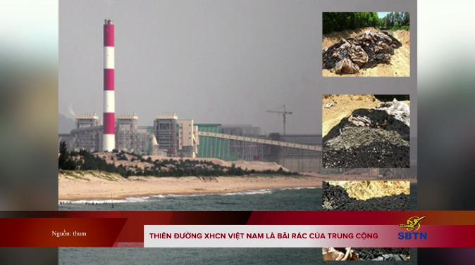Thiên đường XHCN Việt Nam là bãi rác của Trung Cộng