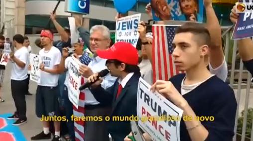 Đụng độ giữa 2 phe biểu tình chống & bênh ông Trump tại Brazil