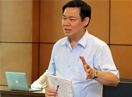 Phó Thủ Tướng C.S.V.N. Vương Đình Huệ kêu gọi thử cho ngân hàng phá sản