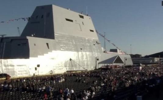 Hải quân Hoa Kỳ nhận tàu khu trục lớn nhất và tiên tiến nhất USS Zumwalt