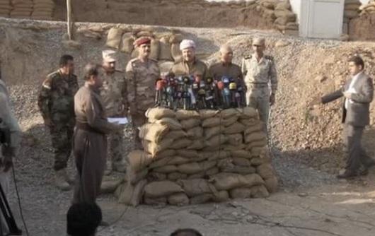 Lực lượng Kurd Peshmega dành lại 200 km2 trong chiến dịch Mosul