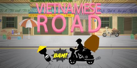 Nỗi khổ băng qua đường ở Việt Nam trở thành trò chơi điện tử của Nhật
