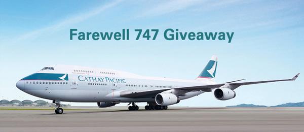 Chuyến bay  Boeing 747 cuối cùng của Cathay Pacific Hồng Kông