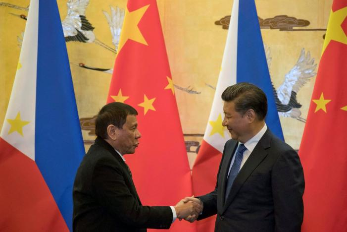 Tổng thống Philippines: Hoa Kỳ đã thất bại, Philippines sẽ liên kết với Trung Cộng