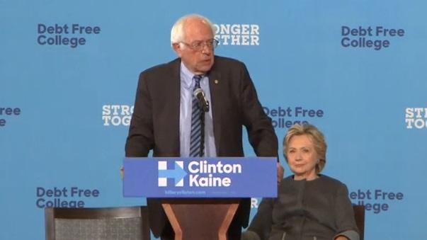 Hillary Clinton mời Bernie Sanders kiểm phiếu của giới trẻ