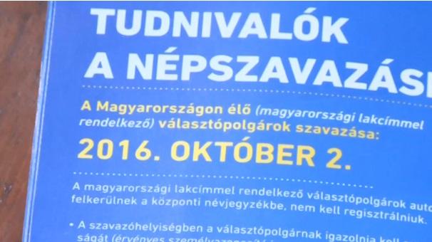 Hungary: Trưng cầu dân ý về khủng hoảng di dân