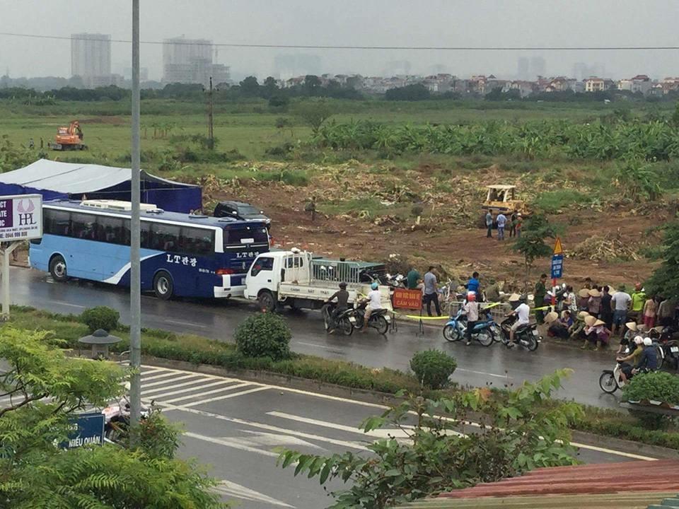 Nhà cầm quyền Dương Nội tiếp tục cưỡng chiếm đất đai bà con nông dân