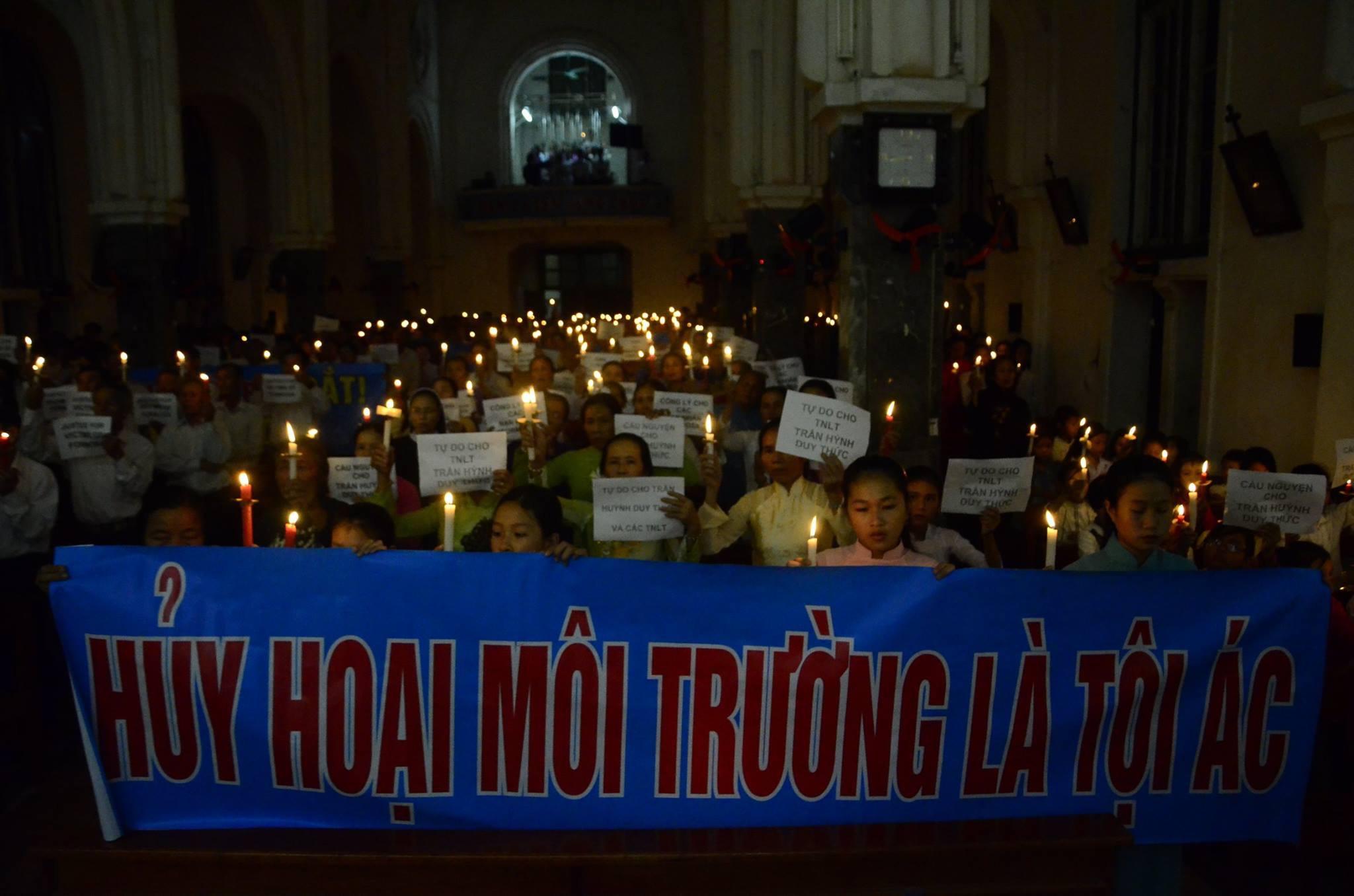 Giáo xứ Phú Yên dâng Thánh lễ cầu nguyện cho các tù nhân lương tâm Việt Nam