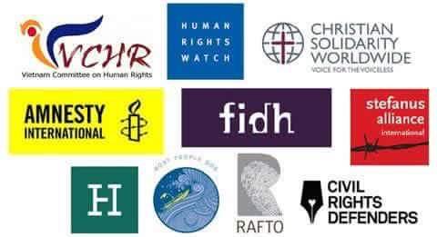 Hơn 50 tổ chức xã hội dân sự quốc tế & quốc nội gửi thư tới quốc hội CSVN về luật tôn giáo