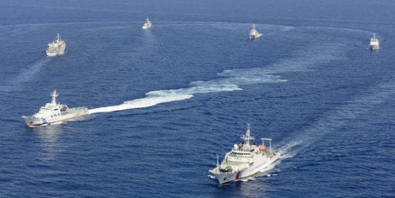 Trung Cộng trang bị quân đội, phản đối Nhật Bản tuần tra Biển Đông