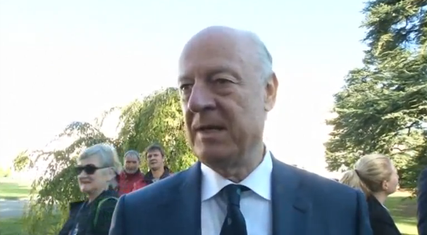 Ông De Mistura – UN kêu gọi chấm dứt ném bom Syria