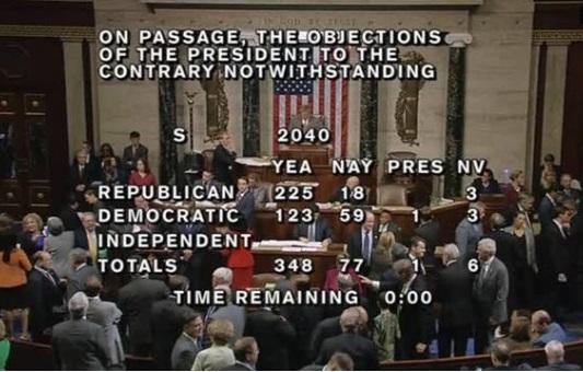 Quốc hội Mỹ có thể thay đổi luật 11 tháng 9