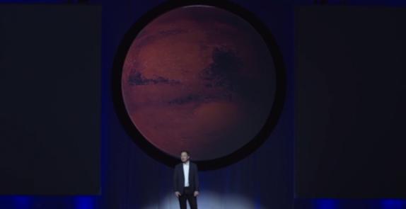 Elon Musk tuyên bố sẽ đưa người lên Hoả Tinh sinh sống